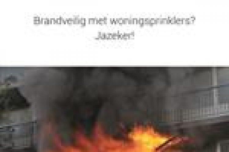 Brochure Brandveilig met woningsprinklers? Jazeker!