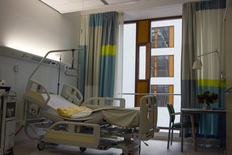 Ziekenhuizen en zorginstellingen voorzien van sprinklers of watermist