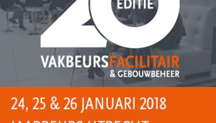 Lezingenprogramma tijdens Vakbeurs Facilitair & Gebouwbeheer 25 januari 2018