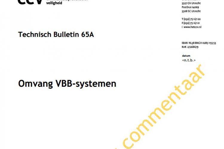 Concept TB 65A omvang sprinklersystemen voor commentaar