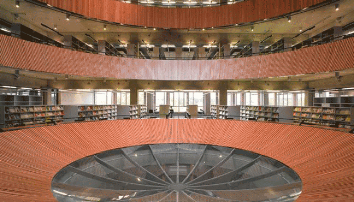 Forumgebouw Universiteit Wageningen