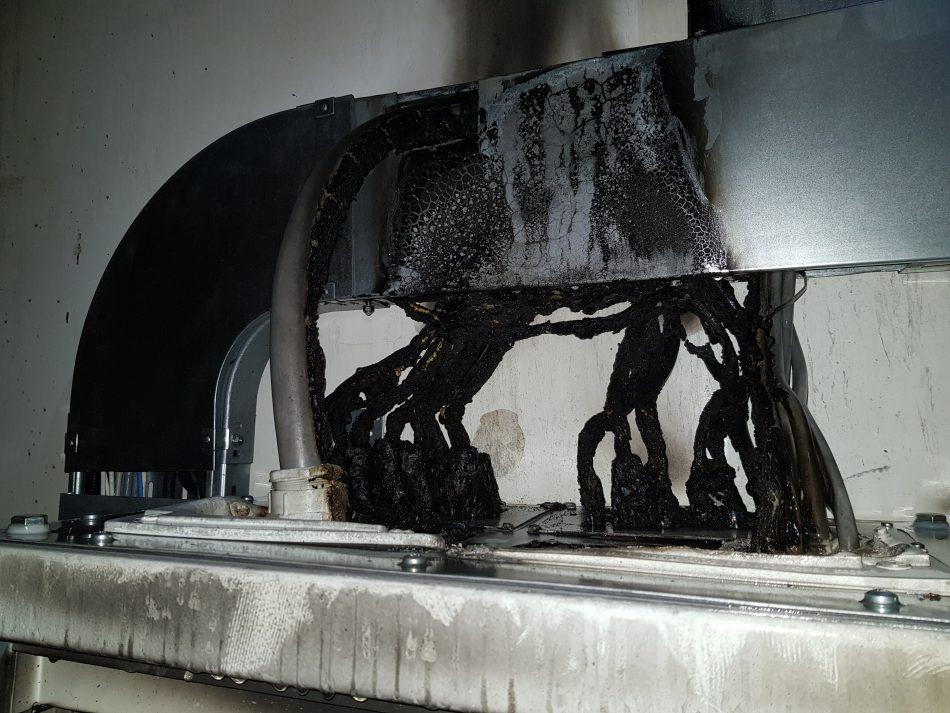 Brand geblust door sprinklerinstallatie