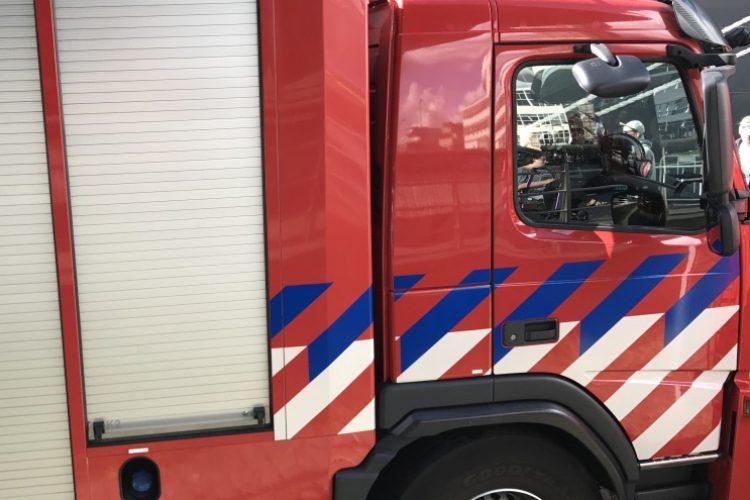 Sprinklerinstallatie controleert brand in appartementencomplex Rotterdam