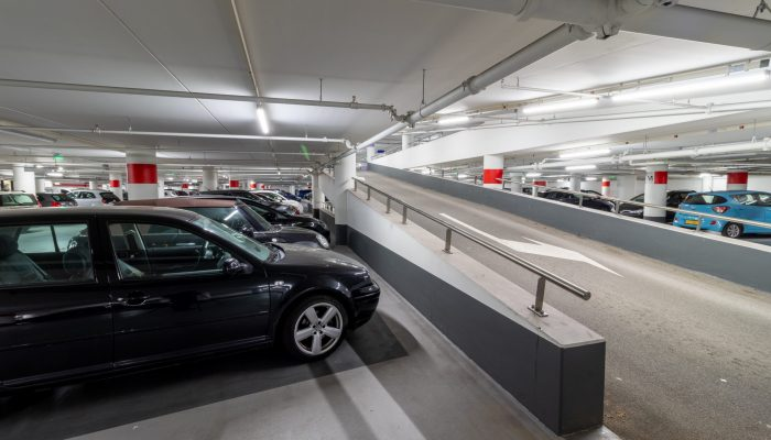 Parkeergarage Alkmaar onvoldoende beschermd tegen brand