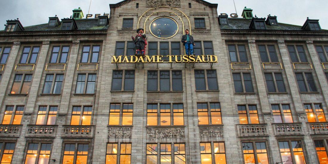 Brand in Madame Tussauds geblust door sprinkler
