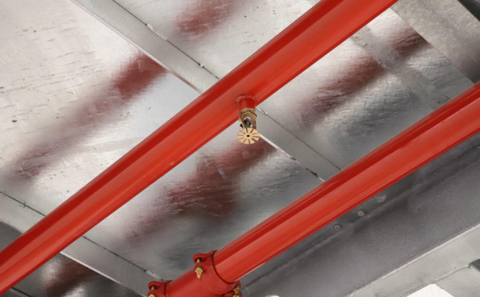 Leidingonderzoek en leidinginspectie van sprinklerinstallaties